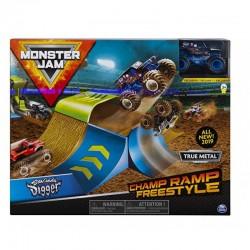 Spin Master MONSTER JAM Wyczynowy Zestaw Champ Ramp Freestyle 3382