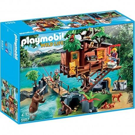 PLAYMOBIL 5557 WILD LIFE Przygoda z Domkiem na Drzewie