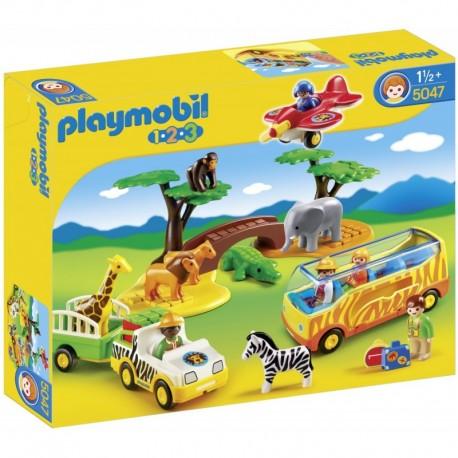 PLAYMOBIL 5047 PLAYMOBIL 1.2.3 Duże Safari w Afryce