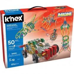 K'NEX IMAGINE Klocki Konstrukcyjne Power&Play 50 MODELI 529el. 23012