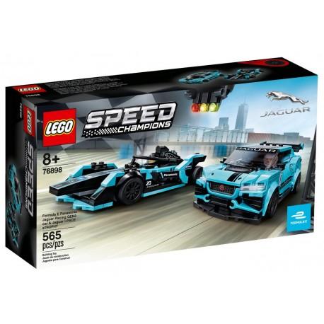 LEGO SPEED CHAMPIONS 76898 Jaguar Racing GEN2 i Jaguar I-PACE eTROPHY