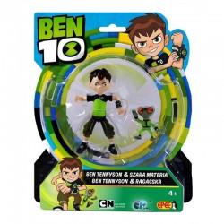 BEN 10 Figurka Ben Tennyson i Szara Materia 76101