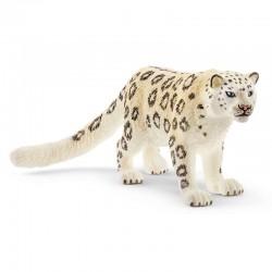 SCHLEICH Figurki Zwierząt Dzikich ŚNIEŻNY LEOPARD 14838