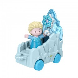 Fisher-Price Little People FROZEN ELSA Z POJAZDEM GNR07