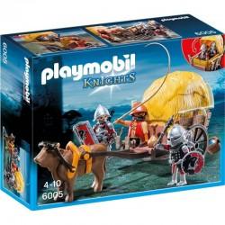 PLAYMOBIL 6005 KNIGHTS - RYCERZE Zamaskowany Powóz Rycerzy Herbu Sokoła