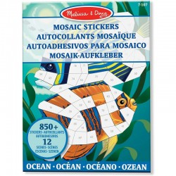 Melissa & Doug MOZAIKI DO WYKLEJANIA Ocean 40161