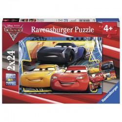 RAVENSBURGER Puzzle 2x24 Cars 3 ZYGZAK CRUZ JACKSON 078103