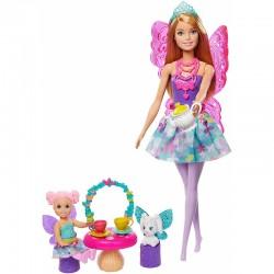 MATTEL Barbie Dreamtopia BAŚNIOWE PRZEDSZKOLE WRÓŻEK GJK50