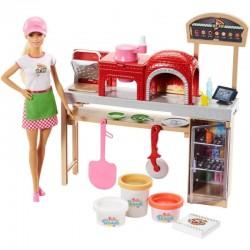Mattel BARBIE Pizzeria + Ciastolina FHR09