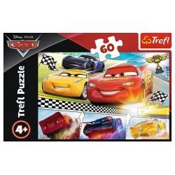 TREFL Układanka Puzzle 60 Elementów Cars LEGENDARNY WYŚCIG 17334