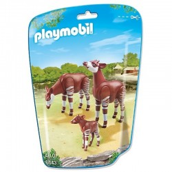 PLAYMOBIL 6643 CITY LIFE Okapi