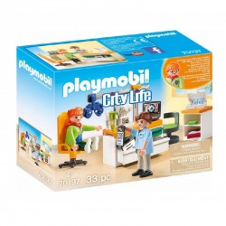 PLAYMOBIL City Life 70197 OKULISTA