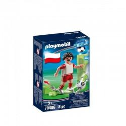 PLAYMOBIL Sport&Action 70486 Piłkarz Reprezentacji Polski