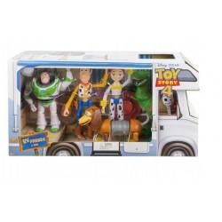 Toy Story 4 Zestaw Kolekcjonerskich Figurek z Bajki GDL54