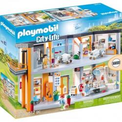 PLAYMOBIL 70190 City Life DUŻY SZPITAL Z WYPOSAŻENIEM