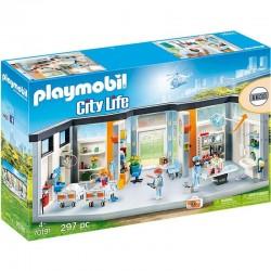 PLAYMOBIL 70191 City Life SZPITAL Z WYPOSAŻENIEM