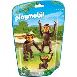 PLAYMOBIL 6650 CITY LIFE Szympansy