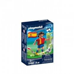 PLAYMOBIL Sport&Action 70482 Piłkarz Reprezentacji Hiszpanii
