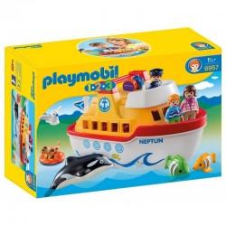 PLAYMOBIL 6957 PLAYMOBIL 1.2.3 Mój Przenośny Statek