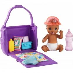 MATTEL Barbie Skipper LALECZKA BOBAS + Akcesoria Do Przewijania GHV86