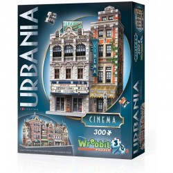 WREBBIT Puzzle 3D Urbania KINO 300 Elementów 00502