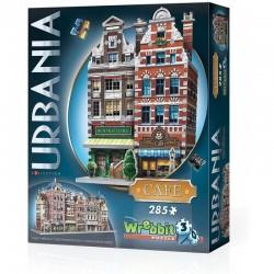 WREBBIT Puzzle 3D Urbania KAWIARNIA 285 Elementów 00503