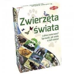 TACTIC Gra Edukacyjna ZWIERZĘTA ŚWIATA 56423