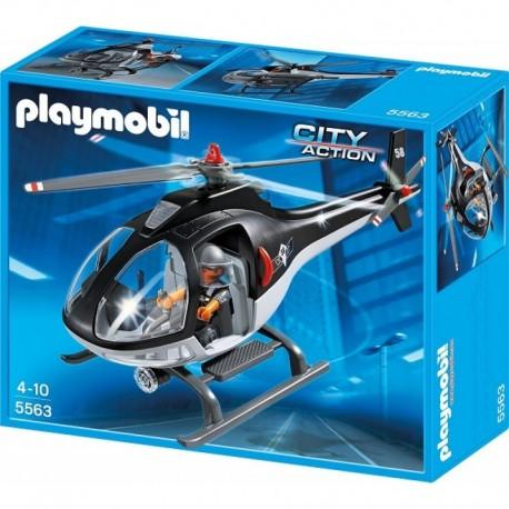 PLAYMOBIL 5563 CITY ACTION Helikopter Jednostki Specjalnej