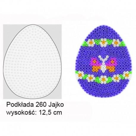 Hama - 26003 - Podkładki do Koralików Hama Midi - Jajko