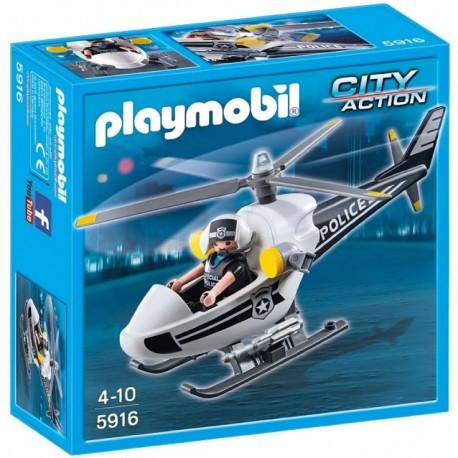 PLAYMOBIL 5916 CITY ACTION Helikopter Policyjny