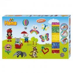 HAMA MIDI 3044 Gift Box 6000 Koralików