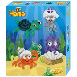 HAMA MIDI 3249 Zestaw Morskie Zwierzęta 2500 Koralików