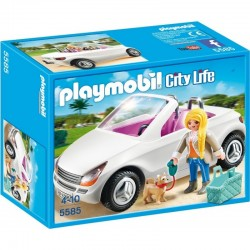 PLAYMOBIL 5585 CITY LIFE Kabriolet