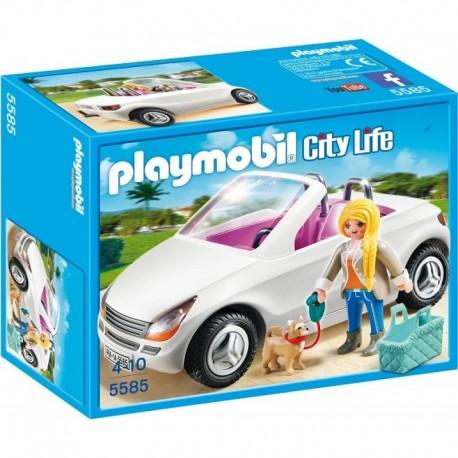 PLAYMOBIL 5585 CITY LIFE Kabriolet