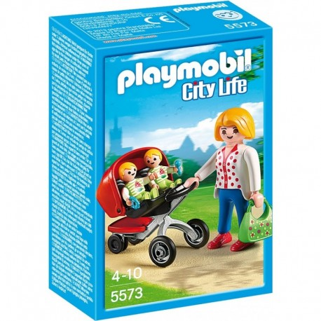 PLAYMOBIL 5573 CITY LIFE Wózek dla Bliźniaków