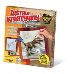 MIRAGE HOBBY Zestaw Kreatywny Malowanie 3D ALLOSAURUS 6602