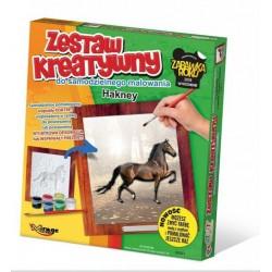 MIRAGE HOBBY Zestaw Kreatywny Malowanie 3D KOŃ HAKNEY 63011