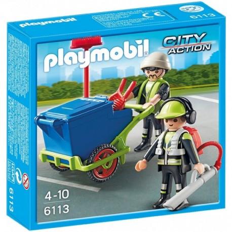PLAYMOBIL 6113 CITY ACTION Zespół Sprzątający Miasto