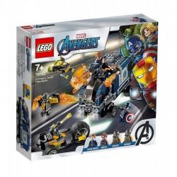 LEGO AVENGERS 76143 Zatrzymanie Ciężarówki