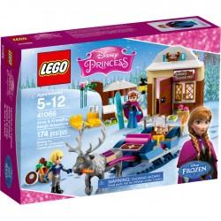 LEGO DISNEY PRINCESS 41066 Saneczkowa Przygoda Anny i Kristoffa NOWOŚĆ 2016