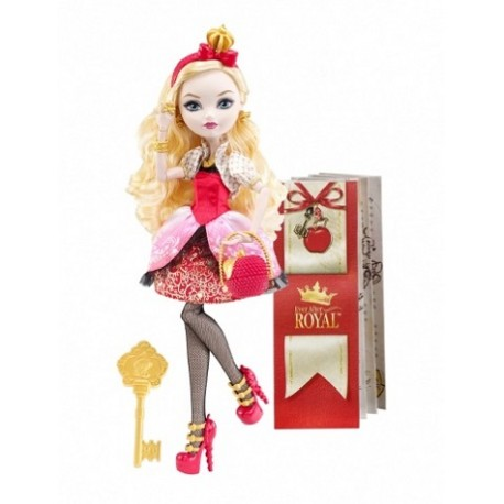 Mattel - BBD51- Ever After High - Apple White