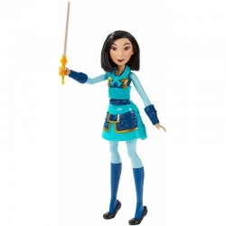 HASBRO Lalka Disney Princess WARRIOR MOVES MULAN E8628