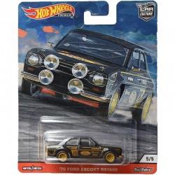 Hot Wheels Car Culture '70 FORD ESCORT RS1600 GJP80