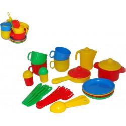 WADER POLESIE Zestaw Plastikowych Naczyń 54869