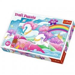 TREFL Puzzle Układanka JEDNOROŻCE Unicorn 160 el. 15372