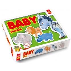 Trefl - 36012 - Puzzle Baby - Zwierzęta Afrykańskie