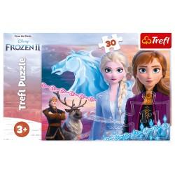 TREFL Puzzle 30 el. KRAINA LODU Frozen II 18253