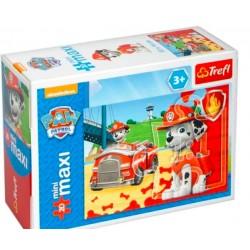 TREFL Puzzle MAXI 20 el. Mini Układanka PSI PATROL 21070