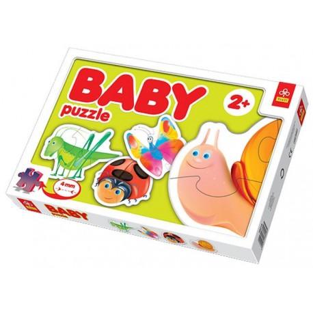 Trefl - 36016 - Puzzle Baby - Owady