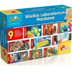 LISCIANI I'm a Genius Science Wielkie Laboratorium Naukowe 9w1 57580